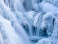 waterfall detail - Iceland