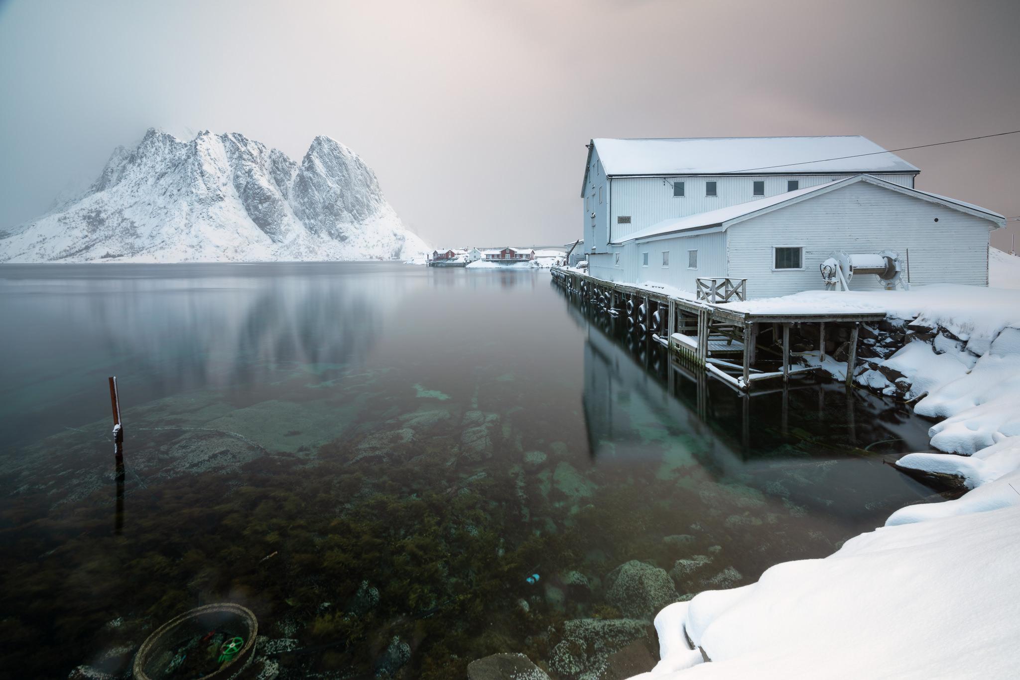 Lofoten, Norway - another shot taken in beautiful Moskenes area.
