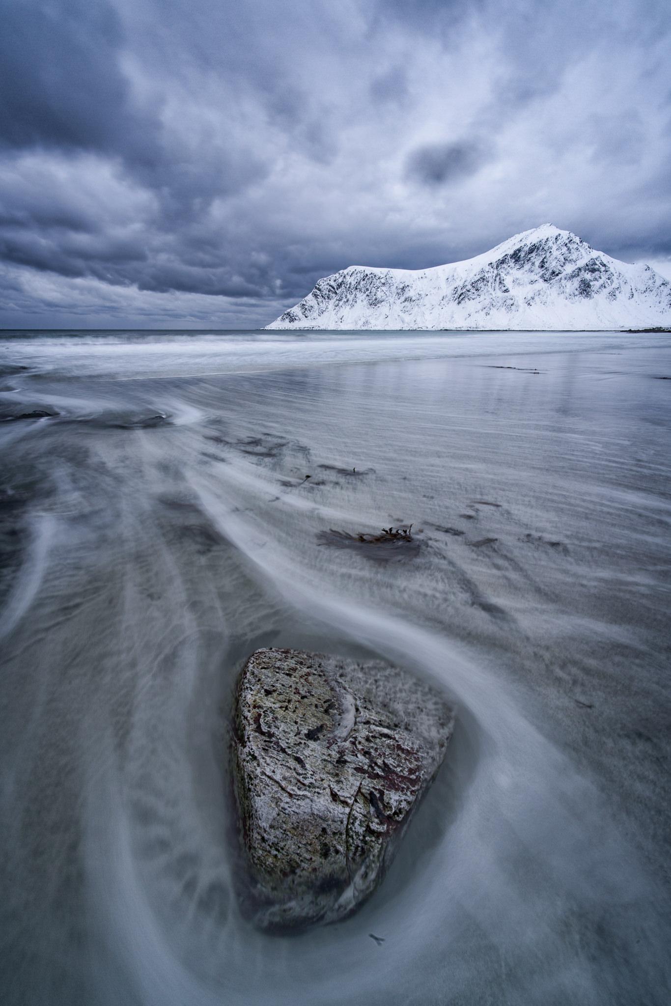 beach and stone