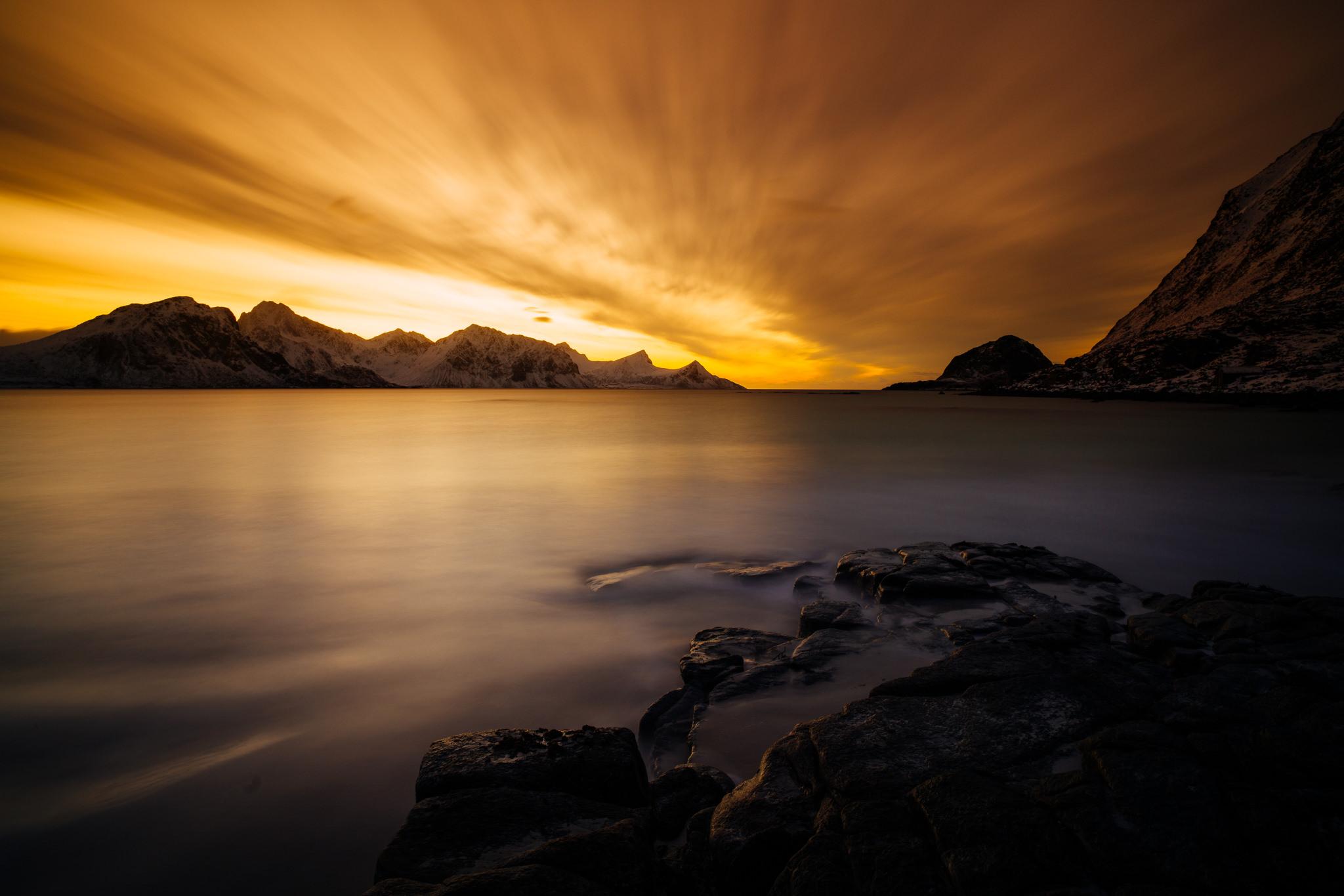 Lofoten sundown