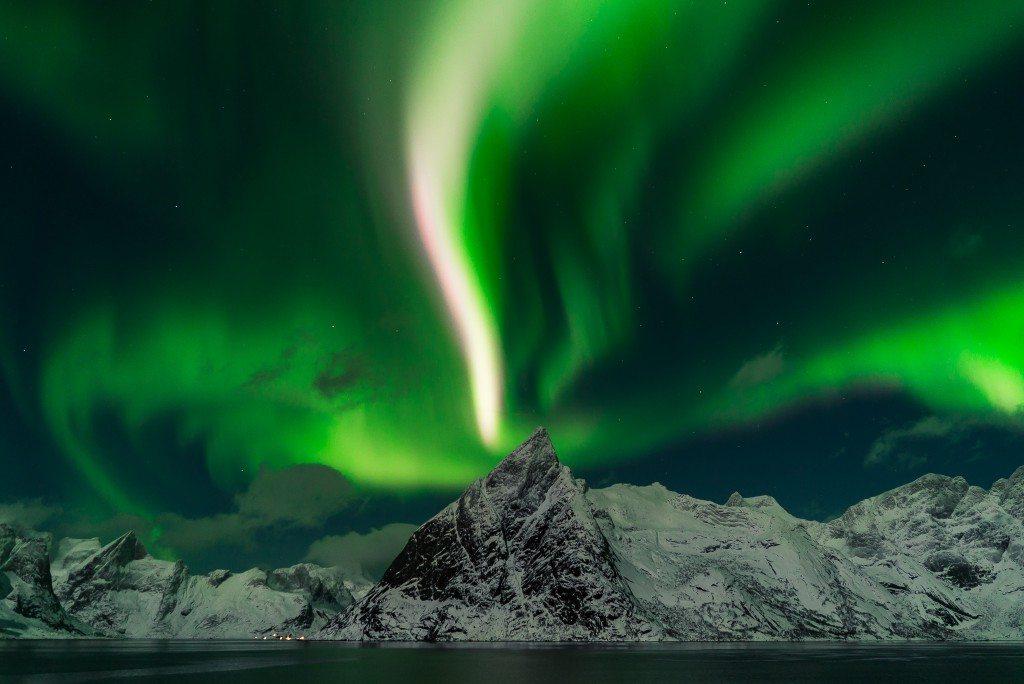 Northern Lights - Hamnøy, Lofoten