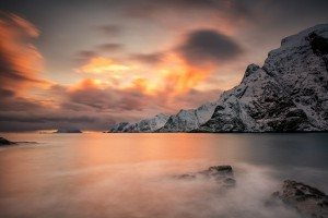 Sundown at Å - Lofoten, Norway