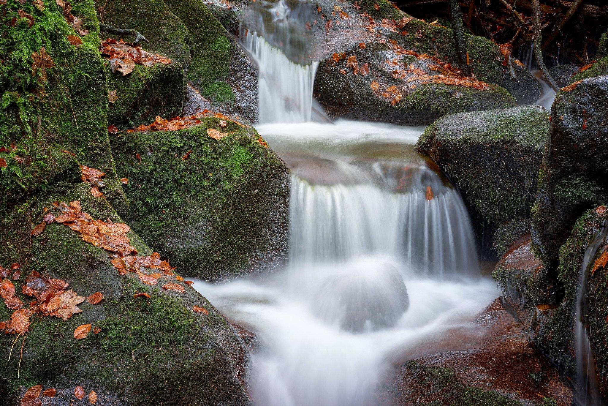 Wasserfallfotografie Nordschwarzwald